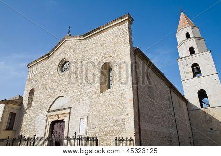 Cathedral of St. Andrea. Venosa. Basilicata. Italy.