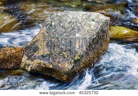 A Stone In The Middle Of The River