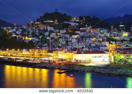 Grenada At Night
