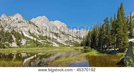 Kings River Panorama In The Sierra Nevada