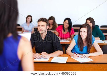 Teacher And The Class