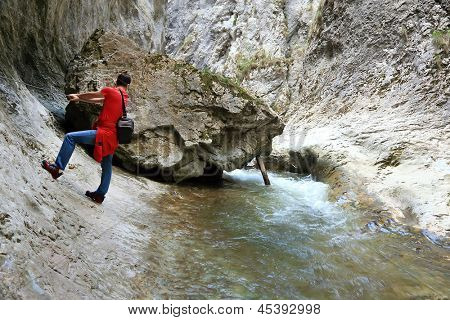 Ramet Gorges in the Occidental Carpathians, Romania, Europe