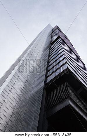 Cuatro Torres Business Area skyscrapers, in Madrid