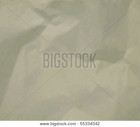 Texture of crumpled paper.can be used as a background . Vector illustration. poster