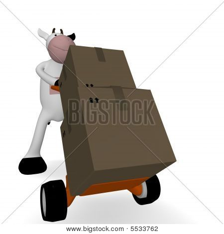 Cow And Freight