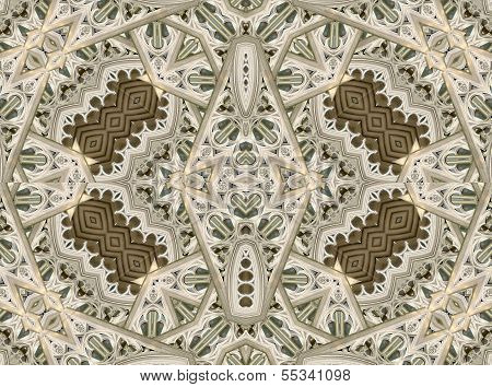 Ornament Baroque Patttern