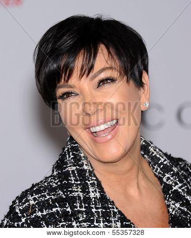 LOS ANGELES - DEC11:  Kris Jenner arrive to Women in Entertainment Breakfast 2013  on December 11, 2013 in Hollywood, CA