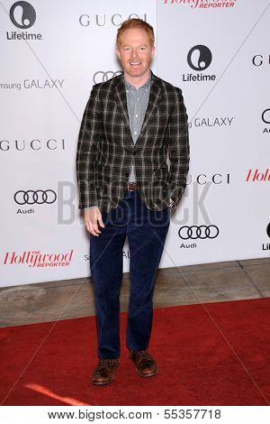 LOS ANGELES - DEC11:  Jesse Tyler Ferguson arrive to Women in Entertainment Breakfast 2013  on December 11, 2013 in Hollywood, CA