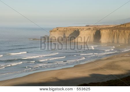 Morning At Tunitas Creek Beach