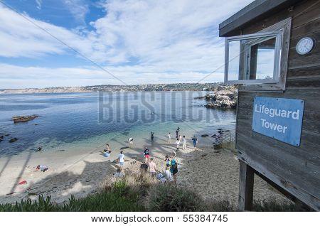 La Jolla Cove In California