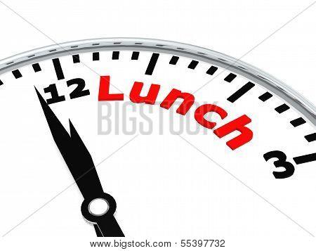 Lunch clock