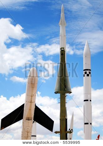 Drones, Missiles And Rockets