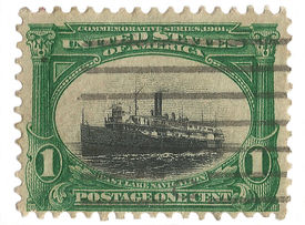 United States Stamp of Eastern Lake Navigation