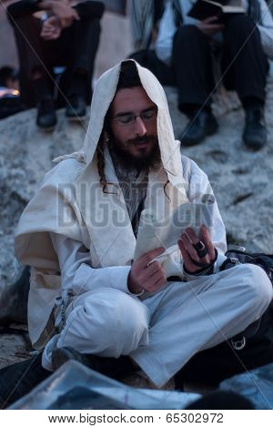Lag Baomer On Mount Meron