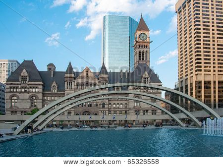 The Old City Hall In Toronto, Canada