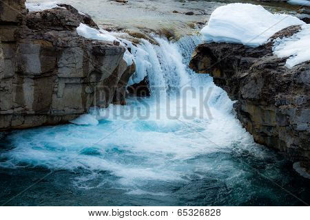 Elbow River Waterfall
