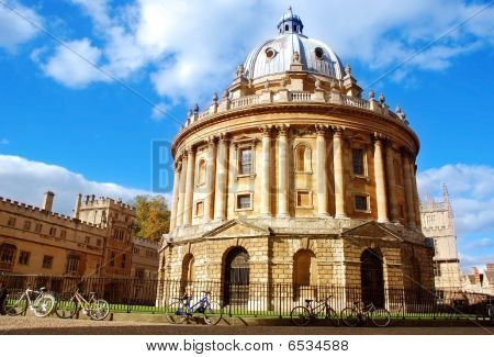 The Radcliffe Camera, Oxford, UK