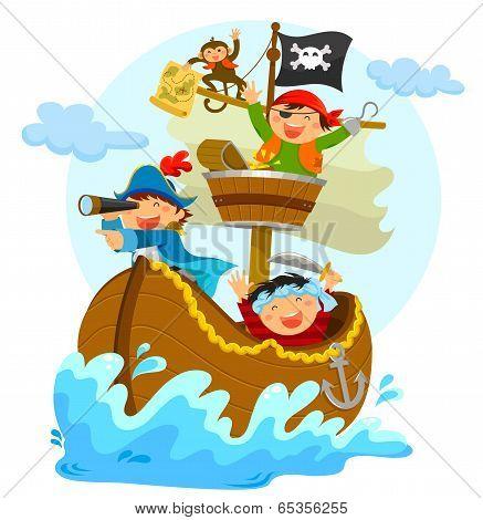 happy pirates