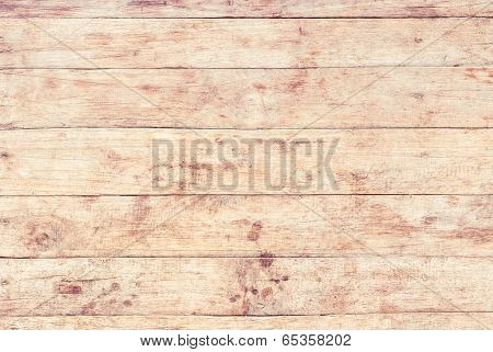 vintage Of Wood Plank Background