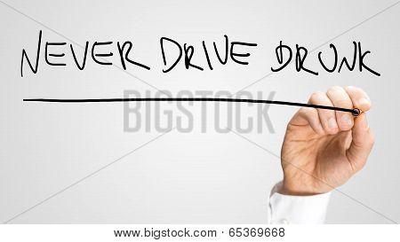 Never Drive Drunk