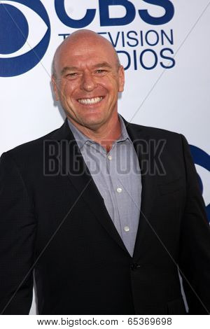 LOS ANGELES - MAY 19:  Dean Norris at the CBS Summer Soiree at London Hotel on May 19, 2014 in West Hollywood, CA