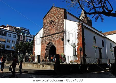 FUNCHAL - APRIL 26, 2014:Se Catedral, Funchal, Madeira
