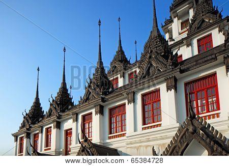 Loha Prasat at Wat Ratchanadda