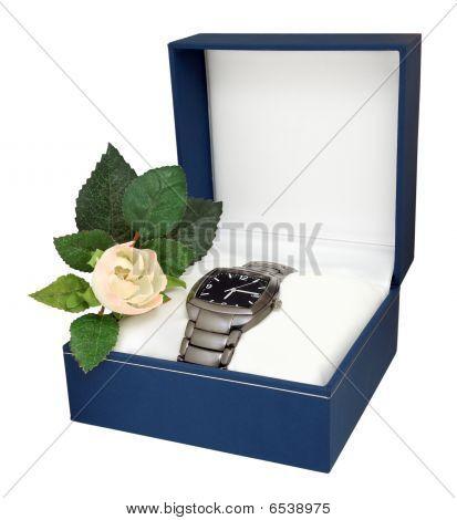 Mans Watch With Titanium Bracelet