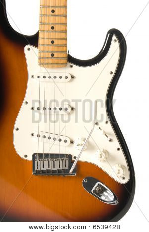 Guitar Body Isolated