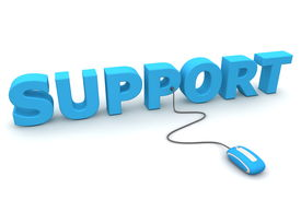 Browse The Support - Blue Mouse