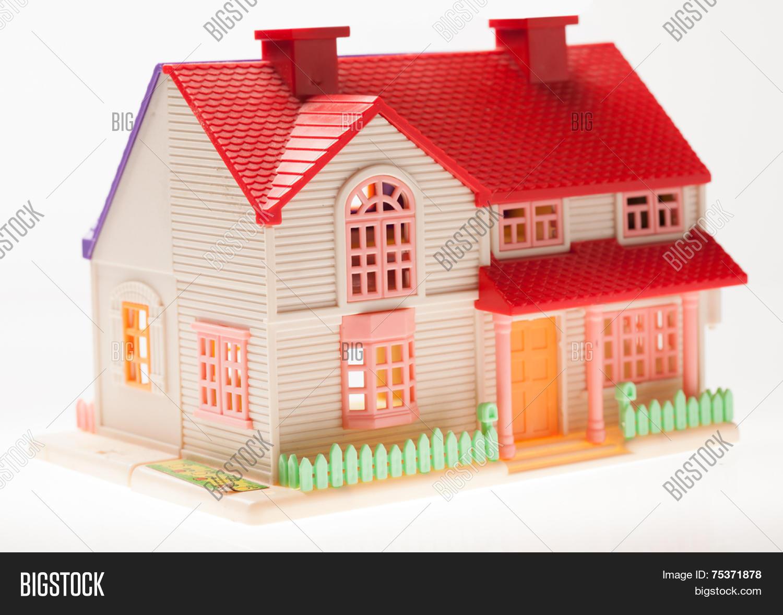 Dollhouse Close On Image Photo Free Trial Bigstock