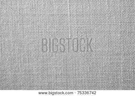 Fabric With Crisscross Fibers Of Light Gray Color