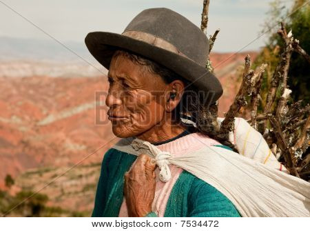 Farmer Woman, Andes, Peru