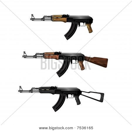 Kalashnikov Submachine Guns