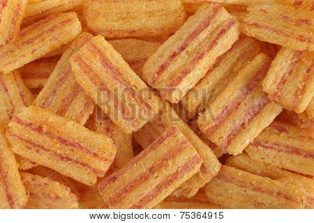 Bacon Flavored Corn Snacks