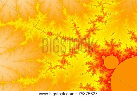 Flaming Mandelbrot Space
