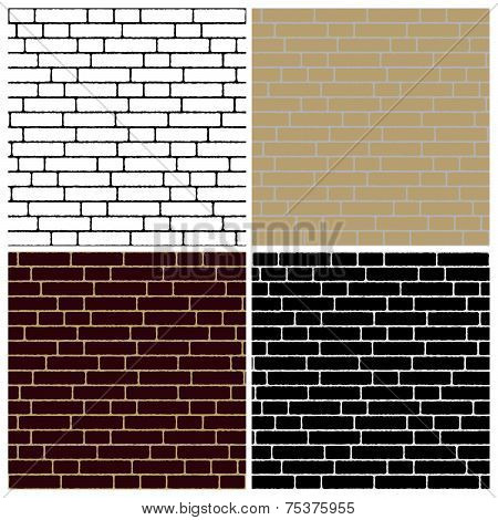 Collection Of Brick Wall Backgrounds - Endless