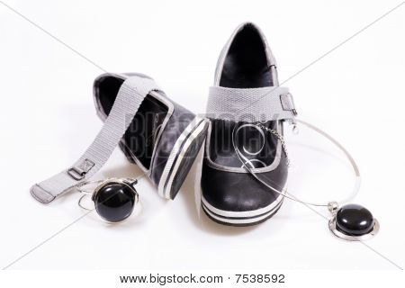 Shoes With Jewellery
