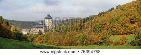 Panorama Karlstejn Castle