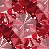 Gem seamless pattern. Ruby seamless pattern background. poster