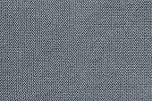 the textured background from knitted fabric with large loops of silvery gray color poster