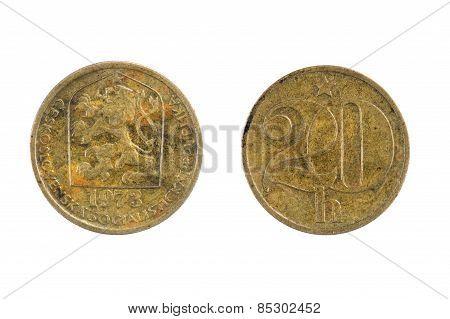 Coins Czechoslovakia