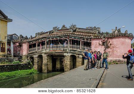 Ancient Japanese Bridge in Hoi An, Vietnam
