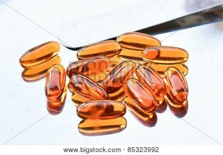 Lecithin Supplement Capsules