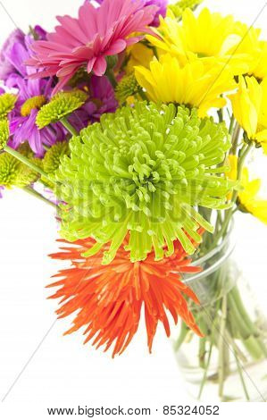 Colorful Spring Bouquet Of Flowers