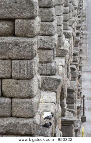 Aqueduct in Segovia,