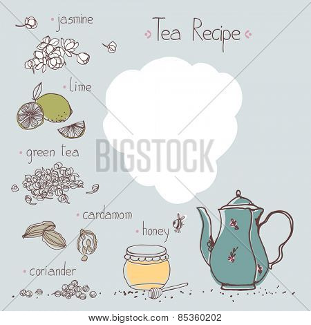 jasmine tea recipe template