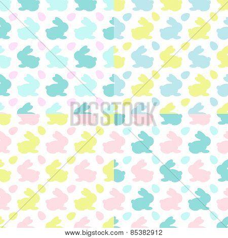 Set of Bunnies Pattern