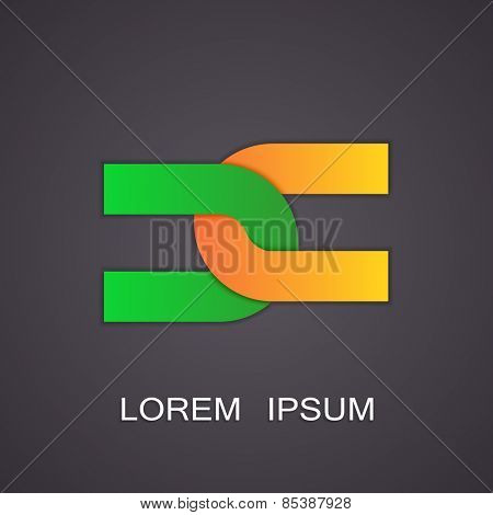 Vector illustration of abstract symbols