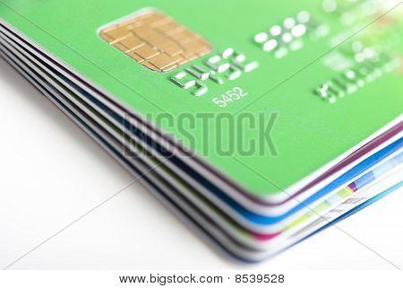 Kreditkarten-Stack